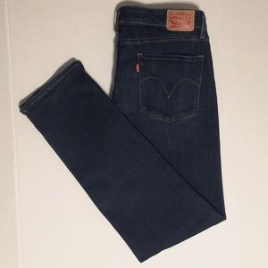 Levis Classic Mid-Rise Skinny Jeans